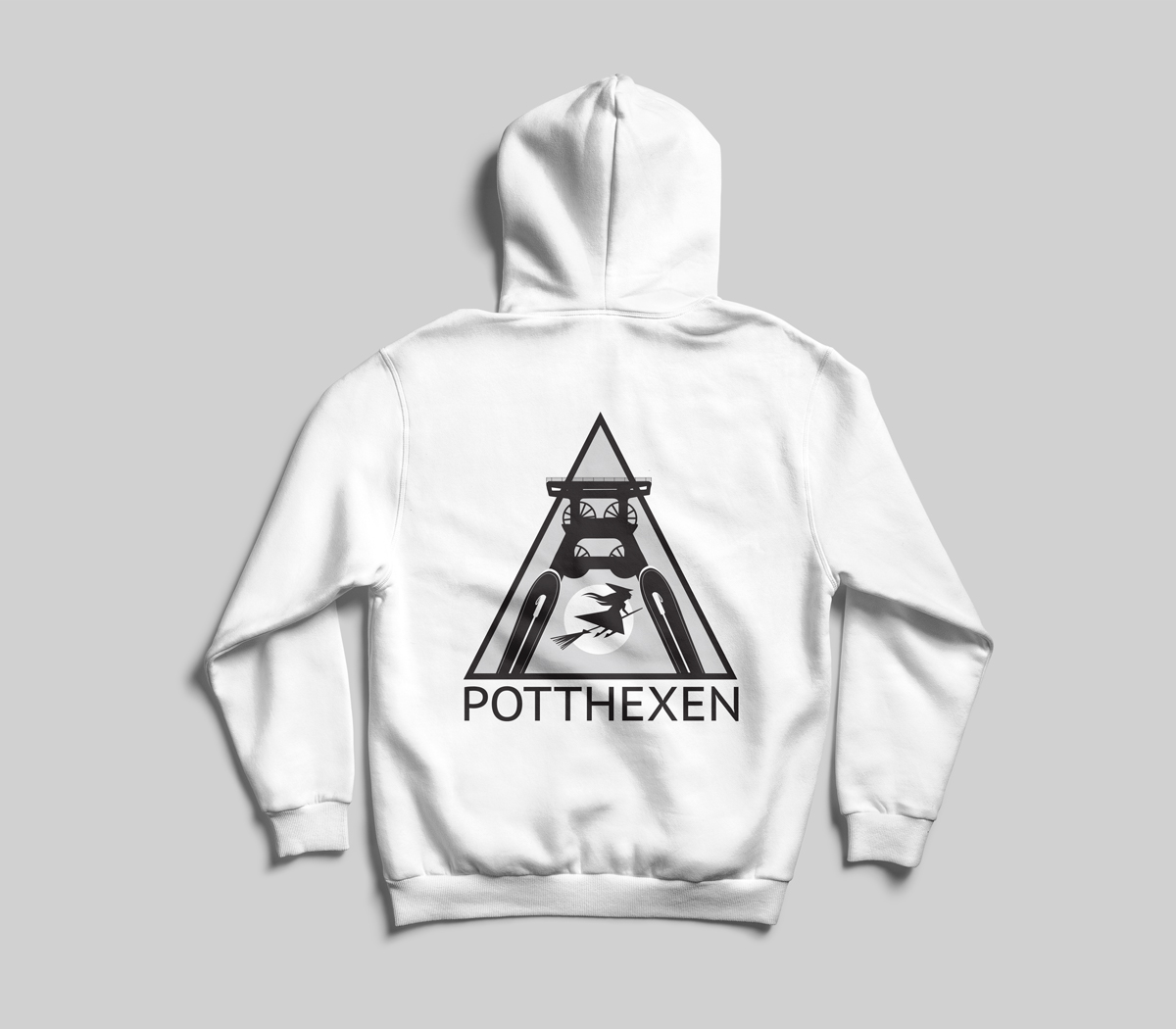 Mock-Up Pullover Potthexe