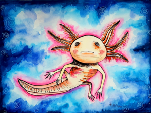 Axel das Axolotl