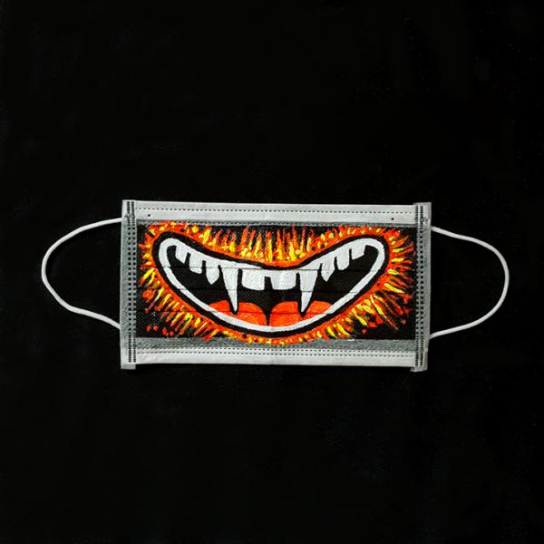 Happy Fangs Mask